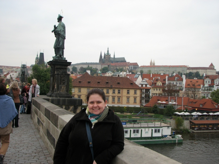 Me on Charles Bridge, Prague