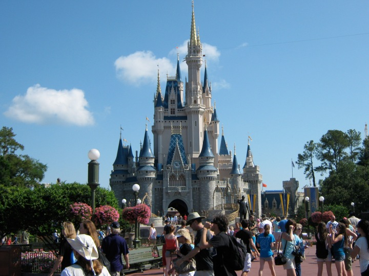 Cinderella's Castle, Disney World, Orlando, Florida