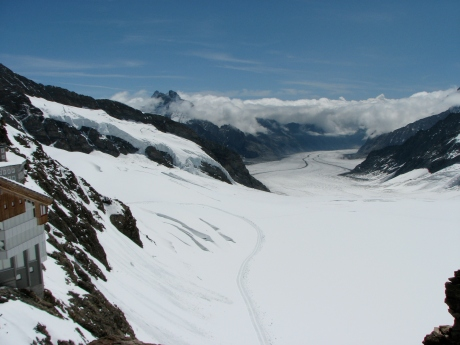 Aletsch Glacier, Jungfrau, Switzerland - My Best of Travel So Far - The Trusted Traveller
