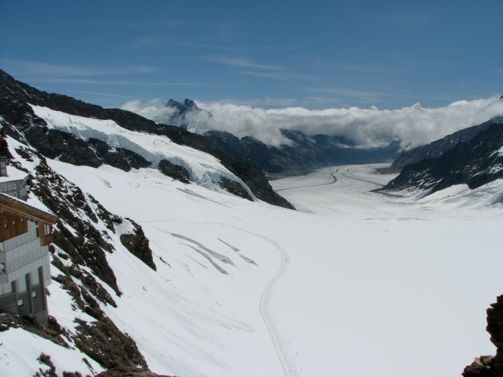 Aletsch Glacier, Jungfrau, Switzerland