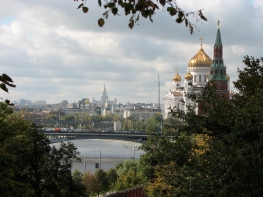Moscow viewed from within the Kremlin
