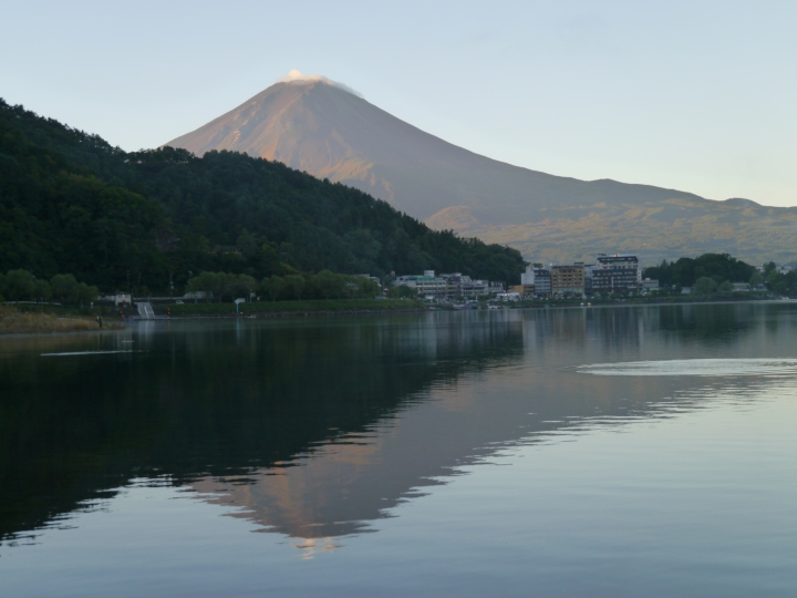 Mt Fuji early in the morning