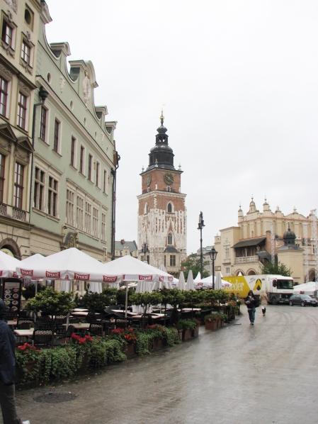 Krakow's Main Market Square