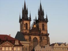 Tyn Church, Old Town Square, Prague