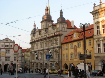 The architecture of Prague