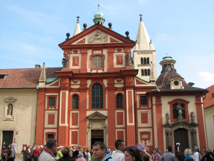 Basilica of St George, Prague Castle