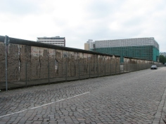 Remaining part of the Berlin Wall