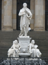 Schiller Monument, Gendarmenmarkt
