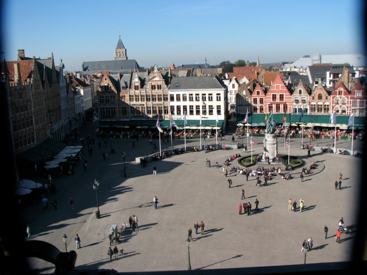 View of the Town Square from the Belfry