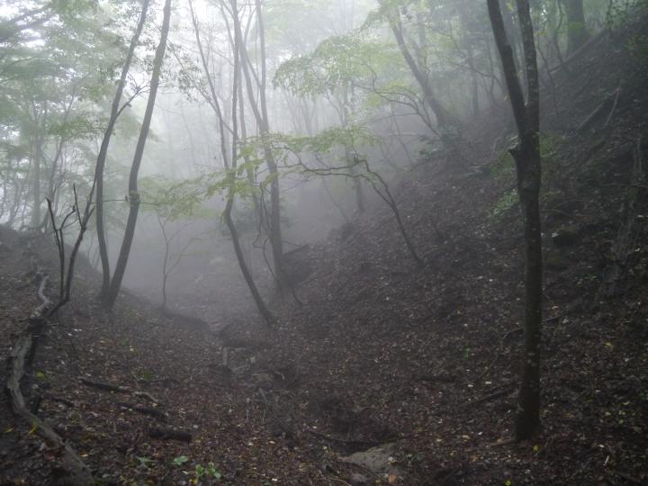 climbing Mt Yufuin