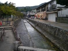 Canal in Miyajima